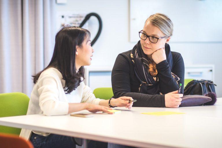 International Talents Mentoring Programme - One on one meetings with mentee and mentor