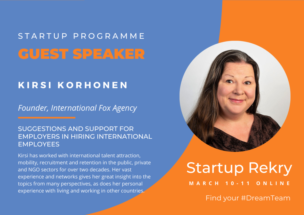 Kirsi for startup (published)